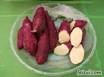 东兴红姑娘红薯