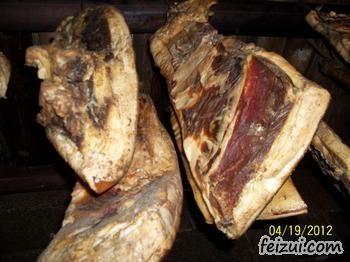 织金农家土制烟熏腊肉