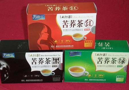 万康乐苦荞茶