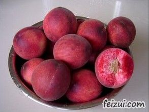 桐柏朱砂红桃