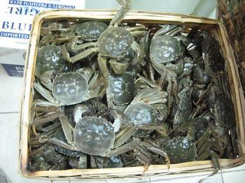 鹤龙湖大闸蟹