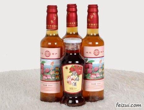 井山红杨梅酒