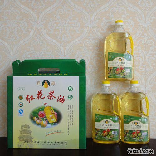德兴红花茶油