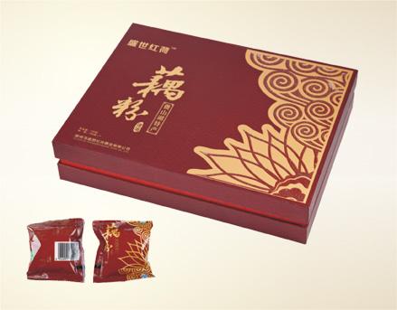 盛世红荷藕粉