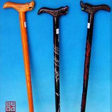张良庙拐杖