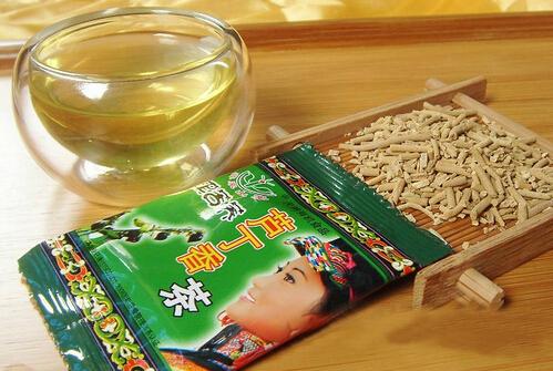 彝家山寨黑苦荞芦丁香茶