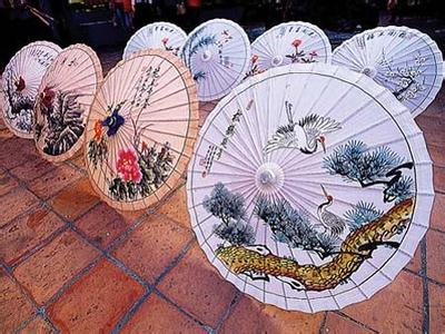 美浓油纸伞