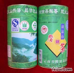清凉山磨锅茶