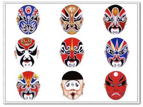京剧face谱