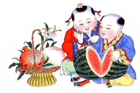 天津杨柳青年画